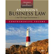 Anderson's Business Law and the Legal Environment, Comprehensive Edition by Twomey,David P., 9780324638189