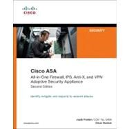 Cisco ASA All-in-One Firewall, IPS, Anti-X, and VPN Adaptive Security Appliance by Frahim, Jazib; Santos, Omar, 9781587058196