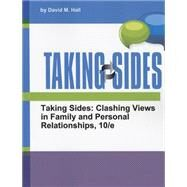 Taking Sides Clashing Views in Family and Personal Relationships by Hall, David M., 9781308098197