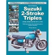 How to Restore Suzuki 2-stroke Triples by Burns, Ricky, 9781845848200