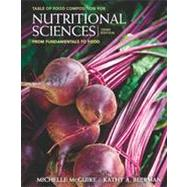 Nutritional Sciences From Fundamentals to Food (with Table of Food Composition Booklet) by McGuire, Michelle; Beerman, Kathy A., 9780840058201