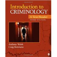 Introduction to Criminology: A Text/Reader by Walsh, Anthony; Hemmens, Craig, 9781452258201