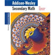 Secondary Math Focus on Advanced Algebra by Dossey, 9780201868203