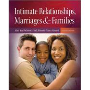 Intimate Relationships, Marriages, and Families by DeGenova, Mary Kay; Rice, F. Philip; Stinnett, Nick; Stinnett, Nancy, 9780073528205