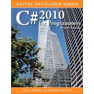 C# 2010 for Programmers by Deitel, Paul; Deitel, Harvey M., 9780132618205