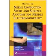Manual of Nerve Conduction Study and Surface Anatomy for Needle Electromyography by Lee, Hang J.; DeLisa, Joel A., 9780781758215