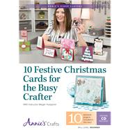 10 Festive Christmas Cards for the Busy Crafter by Hoeppner, Megan, 9781573678216