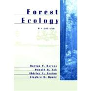 Forest Ecology, 4th Edition by Burton V. Barnes (Univ. of Michigan); Donald R. Zak (Univ. of Michigan); Shirley R. Denton (Biology Research Associates, Tampa, Florida); Stephen H. Spurr (Univ. of Texas at Austin), 9780471308225