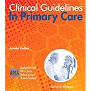 CLINICAL GUIDELINES IN PRIMARY CARE by Unknown, 9781892418227