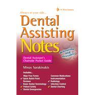 Dental Assisting Notes by Sarakinakis, Minas, 9780803638228