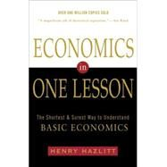 Economics in One Lesson by HAZLITT, HENRY, 9780517548233