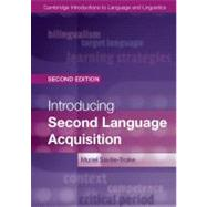 Introducing Second Language Acquisition by Saville-Troike, Muriel, 9781107648234