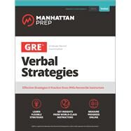 Gre Verbal Strategies by Manhattan Prep, 9781506238234