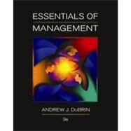 Essentials of Management by DuBrin, Andrew J., 9780538478236