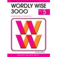 Wordly Wise 3000 Book 5 (Item # 2823) by Hodkinson, Kenneth, 9780838828236