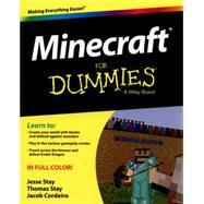 Minecraft for Dummies by Stay, Jesse; Stay, Thomas; Cordeiro, Jacob, 9781118968239