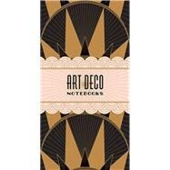 Art Deco Notebooks by Chronicle Books, 9781452118239