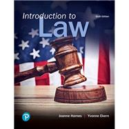 Introduction to Law by Hames, Joanne B; Ekern, Yvonne, 9780134868240