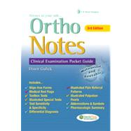 Ortho Notes: Clinical Examination Pocket Guide by Gulick, Dawn, 9780803638242