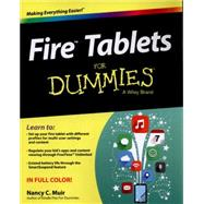Fire Tablets for Dummies by Muir, Nancy C., 9781119008255