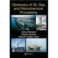 Dictionary of Oil, Gas, and Petrochemical Processing by Bahadori; Alireza, 9781466588257