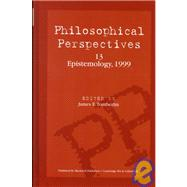 Philosophical Perspectives, Epistemology by Tomberlin, James, 9780631218258