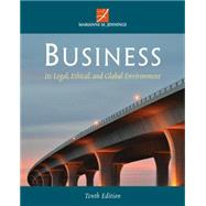 Business: Its Legal, Ethical, and Global Environment by Jennings,Marianne, 9781285428260