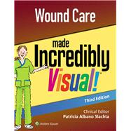Wound Care Made Incredibly Visual by LWW, 9781496398260
