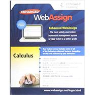 WebAssign Printed Access Card for Calculus, Multi-Term Courses, Life of Edition by WebAssign, 9781285858265
