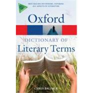 The Oxford Dictionary of Literary Terms by Baldick, Chris, 9780199208272