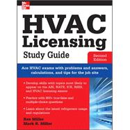 HVAC Licensing Study Guide, Second Edition by Miller, Rex; Miller, Mark, 9780071798273
