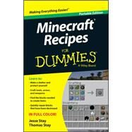 Minecraft Recipes for Dummies by Stay, Jesse; Stay, Thomas, 9781118968277