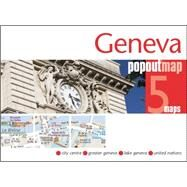 Popout Map Geneva by Popout Maps, 9781910218280