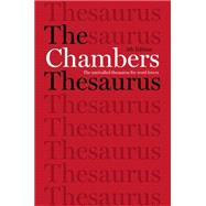 The Chambers Thesaurus, 5th Edition by Chambers (Ed.), 9781473608283