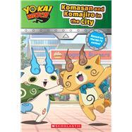 Komasan and Komajiro in the City (Yo-kai Watch Chapter Book #2) by Unknown, 9781338058284