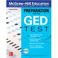 McGraw-Hill Education Preparation for the GED Test, Third Edition by McGraw-Hill Education Editors, 9781260118285