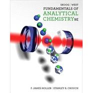 Fundamentals Of Analytical Chemistry by Skoog/Holler/Crouch, 9780495558286