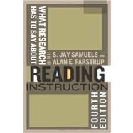 What Research Has to Say About Reading Instruction by Farstrup, Alan E., 9780872078291