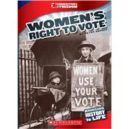 Women's Right to Vote by Benoit, Peter, 9780531258293
