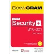 CompTIA Security+ SY0-301 Exam Cram by Hausman, Kirk; Weiss, Martin; Barrett, Diane, 9780789748294