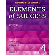 Elements of Success: 4: Student Book with Essential Online Practice by Anne M. Ediger, Linda Lee, Randee Falk, Mari Vargo, 9780194028295