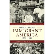 Daily Life in Immigrant America, 1870-1920: How the Second Great Wave of Immigrants Made Their Way in America by Alexander, June, 9781566638302