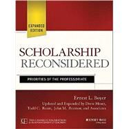 Scholarship Reconsidered by Moser, Drew; Ream, Todd C.; Braxton, John M., 9781118988305