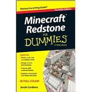 Minecraft Redstone for Dummies: Portable Edition by Cordeiro, Jacob, 9781118968307