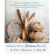 Gluten-Free Artisan Bread in Five Minutes a Day The Baking Revolution Continues with 90 New, Delicious and Easy Recipes Made with Gluten-Free Flours by Hertzberg, Jeff, M.D.; François, Zoë, 9781250018311