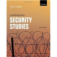 Contemporary Security Studies by Collins, Alan, 9780198708315