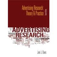 Advertising Research Theory & Practice by Davis, Joel J., 9780132128322