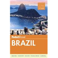 Fodor's Brazil 9781101878323N