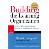 Building the Learning Organization by Marquardt, Michael J., 9781904838326