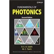 Fundamentals of Photonics by Saleh, Bahaa E. A.; Teich, Malvin Carl, 9780471358329